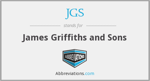 JGS - James Griffiths and Sons