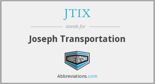What does JTIX stand for?