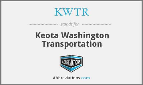 What does KWTR stand for?