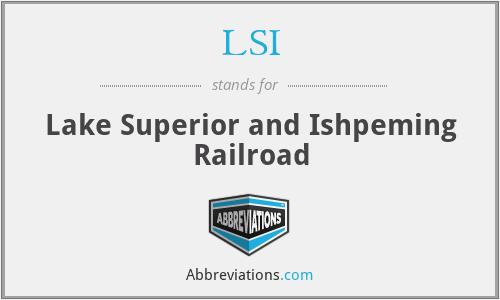 LSI - Lake Superior and Ishpeming Railroad