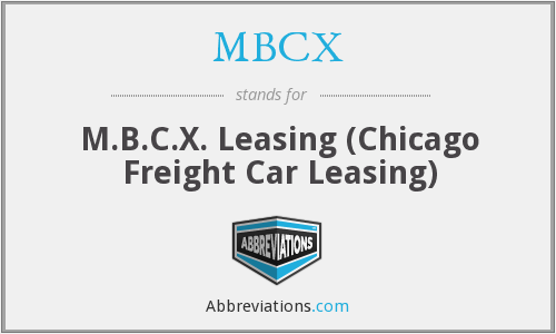 What does MBCX stand for?