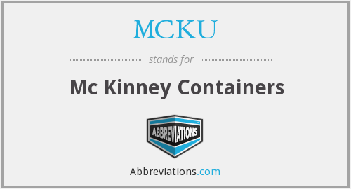 What does MCKU stand for?