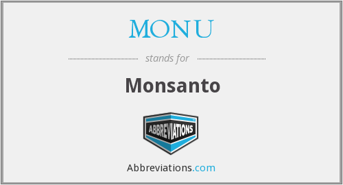 What does MONU stand for?