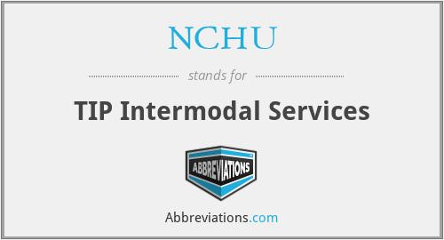 NCHU - TIP Intermodal Services