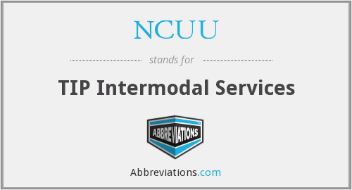 NCUU - TIP Intermodal Services