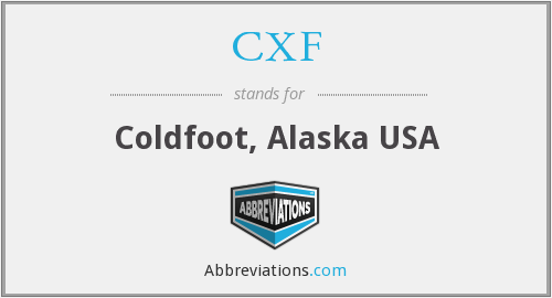 What does CXF stand for?