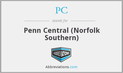 PC - Penn Central (Norfolk Southern)