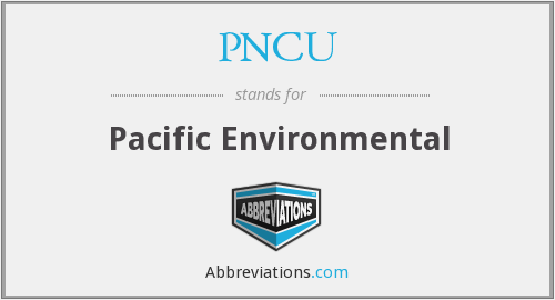 What does PNCU stand for?