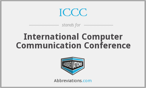 ICCC - International Computer Communication Conference