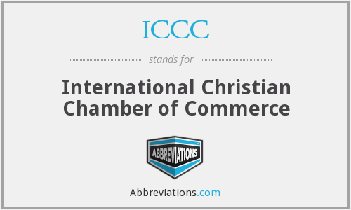 ICCC - International Christian Chamber of Commerce