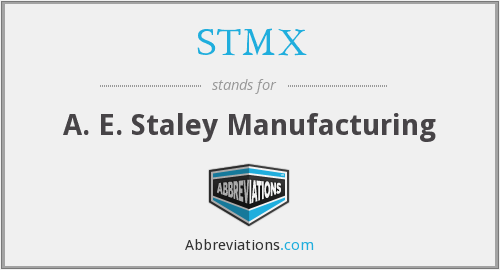 What does STMX stand for?