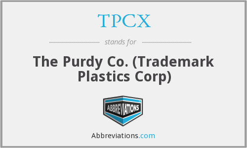 What does TPCX stand for?