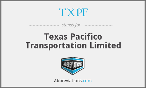 What does TXPF stand for?