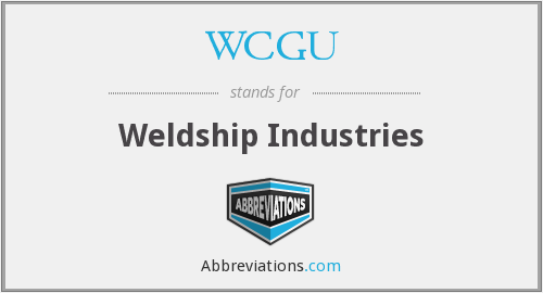 What does WCGU stand for?
