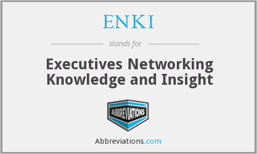 What does ENKI stand for?