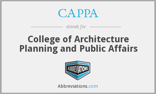 What does CAPPA stand for?