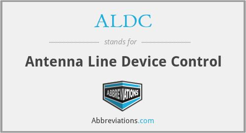 ALDC - Antenna Line Device Control