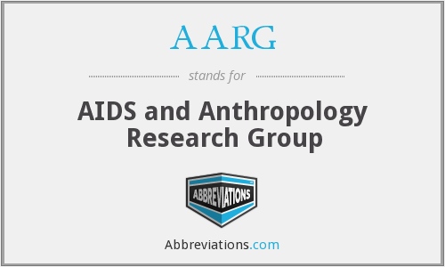 AARG - AIDS and Anthropology Research Group