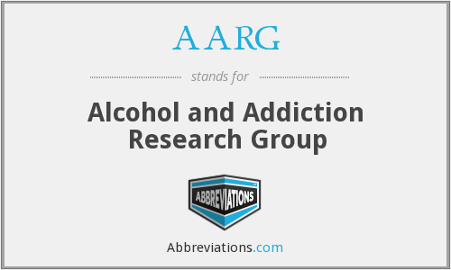 AARG - Alcohol and Addiction Research Group