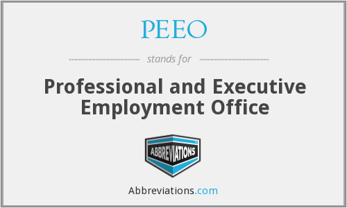 What does PEEO stand for?