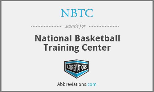 NBTC - National Basketball Training Center