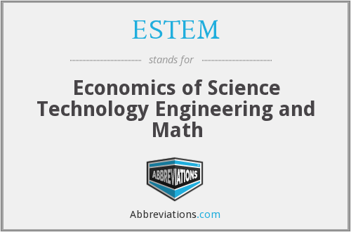 What does ESTEM stand for?