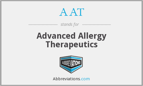 AAT - Advanced Allergy Therapeutics