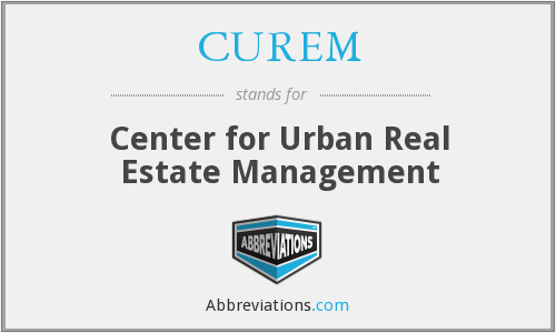 What does CUREM stand for?