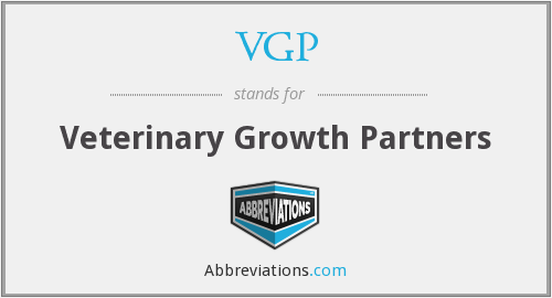 VGP - Veterinary Growth Partners