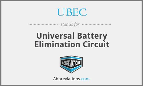 UBEC - Universal Battery Elimination Circuit