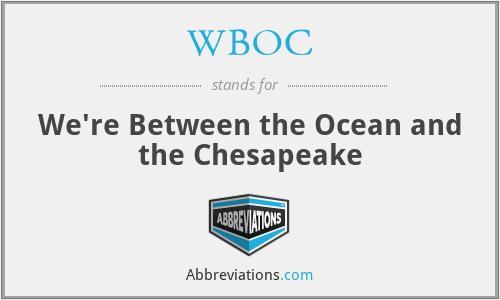 WBOC - We're Between the Ocean and the Chesapeake