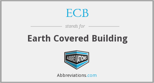 ECB - Earth Covered Building
