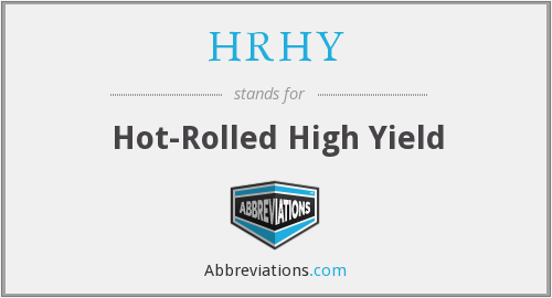 What does HRHY stand for?