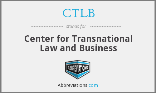 What does CTLB stand for?