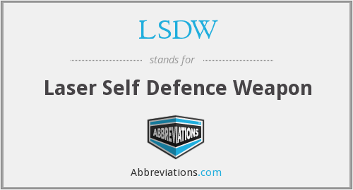 What does LSDW stand for?