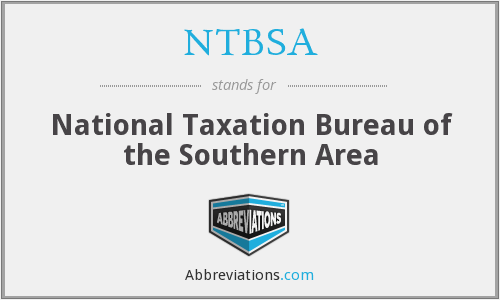 What does NTBSA stand for?