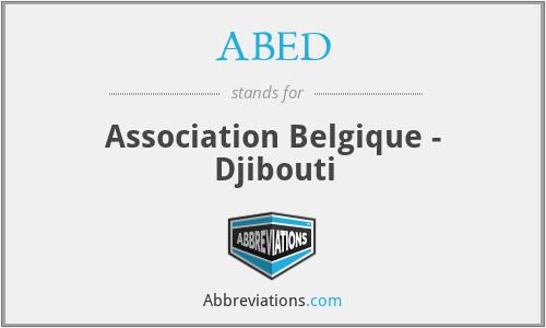 ABED - Association Belgique - Djibouti