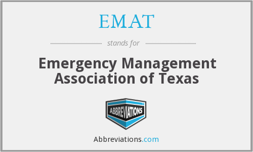EMAT - Emergency Management Association of Texas