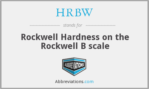 What does HRBW stand for?