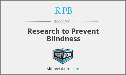 What does RPB stand for?