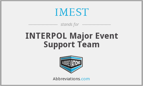 What does IMEST stand for?