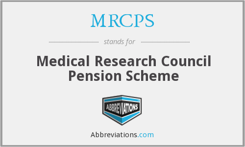 What does MRCPS stand for?
