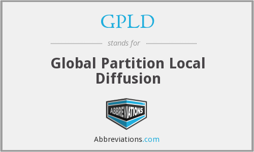 What does GPLD stand for?