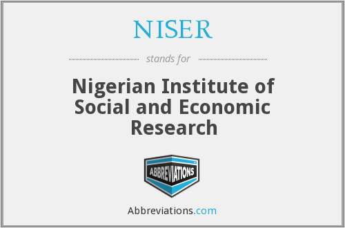 Image result for Nigerian Institute Of Social & Economic Research