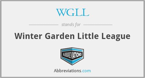 WGLL - Winter Garden Little League