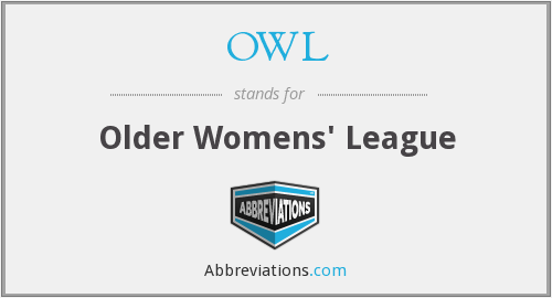 OWL - Older Womens' League