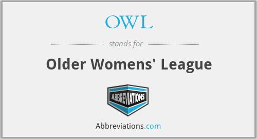 OWL - Older Womens' League