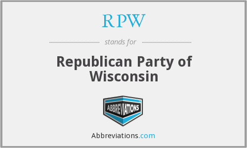 RPW - Republican Party of Wisconsin