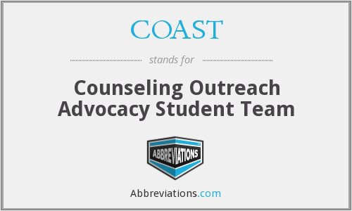 COAST - Counseling Outreach Advocacy Student Team