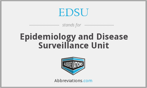 What does EDSU stand for?
